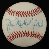 "Jim ""Mudcat"" Grant Signed ONL Baseball (PSA COA) at PristineAuction.com"