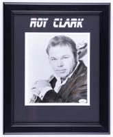 "Roy Clark Signed 13.5x16.5 Custom Framed Photo Inscribed ""Best Wishes"" (JSA COA) (See Description) at PristineAuction.com"