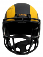 Aaron Donald Signed Rams Full-Size Eclipse Alternate Speed Helmet (JSA COA) at PristineAuction.com