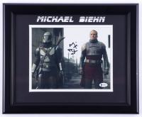 "Michael Biehn Signed ""The Mandalorian"" 13.5x16.5 Custom Framed Photo (Beckett COA) at PristineAuction.com"