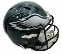 "Chris Long Signed Eagles Full-Size Speed Helmet Inscribed ""SB 52 Champs"" (JSA COA) at PristineAuction.com"