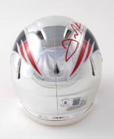 Julian Edelman Signed Patriots Chrome Speed Mini Helmet (Beckett COA) at PristineAuction.com