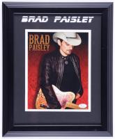 Brad Paisley Signed 13.5x16.5 Custom Framed Photo (JSA COA) (See Description) at PristineAuction.com
