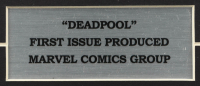 """1993 """"Deadpool"""" Issue #1 Marvel Comic Book 12x16.5 Custom Framed Display (See Description) at PristineAuction.com"""