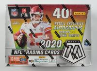 2020 Panini Mosaic Football 10-Pack Mega Box at PristineAuction.com