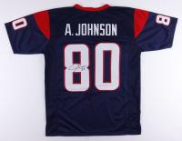 Andre Johnson Signed Jersey (JSA COA) at PristineAuction.com