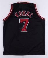 "Toni Kukoc Signed Jersey Inscribed ""3x NBA Champ"" (JSA COA) at PristineAuction.com"