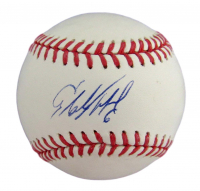 Starling Marte Signed OML Baseball (MLB Hologram) at PristineAuction.com