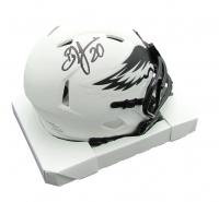 Brian Dawkins Signed Eagles Lunar Eclipse Alternate Speed Mini-Helmet (JSA COA) at PristineAuction.com