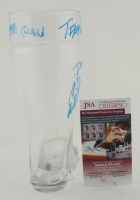 Erik Stolhanske Signed Boot Glass With Multiple Inscriptions at PristineAuction.com