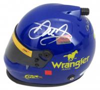 Dale Earnhardt Jr. Signed NASCAR Wrangler #3 Mini Helmet (JSA COA & Earnhardt Jr. Hologram) at PristineAuction.com