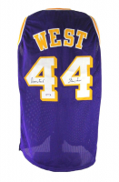 """Jerry West Signed Jersey Inscribed """"The Logo"""" (PSA COA) at PristineAuction.com"""