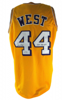 """Jerry West Signed Jersey Inscribed """"HOF 1980 - 2010"""" (PSA COA) at PristineAuction.com"""