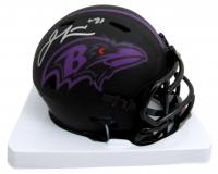 Jamal Lewis Signed Eclipse Alternate Speed Mini Helmet (Beckett COA) at PristineAuction.com
