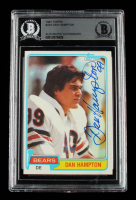 Dan Hampton Signed 1981 Topps #316 Dan Hampton RC (BGS Encapsulated) at PristineAuction.com