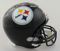 """Jerome Bettis Signed Steelers Full-Size Speed Helmet Inscribed """"HOF 15"""" (Beckett COA) at PristineAuction.com"""