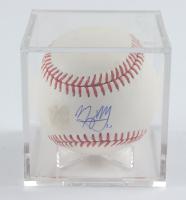 Manny Machado Signed OML Baseball with Display Case (PSA COA) at PristineAuction.com