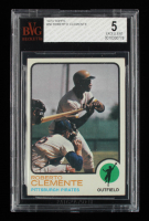 Roberto Clemente 1973 Topps #50 (BVG 5) at PristineAuction.com