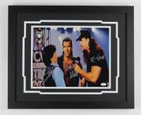 Kevin Nash, Scott Hall, & Eric Bischoff Signed 18x22 Custom Framed Photo Display (JSA Hologram) at PristineAuction.com