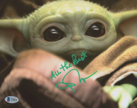 """John Rosengrant Signed """"The Mandolorian"""" 8x10 Photo Inscribed """"All The Best"""" (Beckett COA) at PristineAuction.com"""