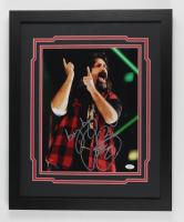 """Cactus Jack Signed 18x22 Custom Framed Photo Display Inscribed """"bang bang"""" (JSA Hologram) at PristineAuction.com"""