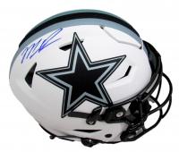 Micah Parsons Signed Cowboys Full-Size Authentic On-Field Lunar Eclipse Alternate SpeedFlex Helmet (Fanatics Hologram) at PristineAuction.com