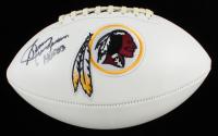 """Sonny Jurgensen Signed Redskins Logo Football Inscribed """"HOF 83"""" (Beckett COA) at PristineAuction.com"""