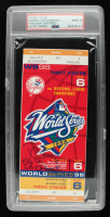 """Darryl Strawberry Signed 1998 World Series Game 6 Ticket Inscribed """"86 WS Champs"""" (PSA Encapsulated) at PristineAuction.com"""