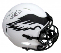 Jalen Hurts Signed Eagles Full-Size Lunar Eclipse Alternate Speed Helmet (PSA COA) at PristineAuction.com