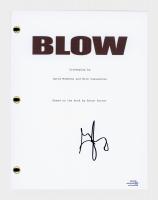 "George Jung Signed ""Blow"" Movie Script (AutographCOA COA) at PristineAuction.com"