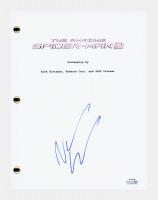 "Andrew Garfield Signed ""The Amazing Spider-Man 2"" Movie Script (AutographCOA COA) at PristineAuction.com"