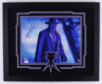 The Undertaker Signed WWE 18x22 Custom Framed Photo Display (JSA COA & Undertaker Hologram) at PristineAuction.com