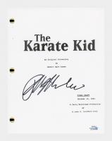 "Ralph Macchio Signed ""The Karate Kid"" Movie Script (AutographCOA COA) at PristineAuction.com"
