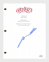 "John Travolta Signed ""Grease"" Movie Script (AutographCOA COA) at PristineAuction.com"