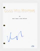 "Matt Damon Signed ""Good Will Hunting"" Movie Script (AutographCOA COA) at PristineAuction.com"