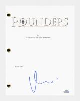 "Matt Damon Signed ""Rounders"" Movie Script (AutographCOA COA) at PristineAuction.com"