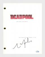 "Tim Miller Signed ""Deadpool"" Movie Script (AutographCOA COA) at PristineAuction.com"