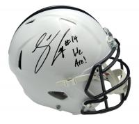 """Sean Clifford Signed Penn State Nittany Lions Full-Size Speed Helmet Inscribed """"We Are!"""" (JSA COA) at PristineAuction.com"""