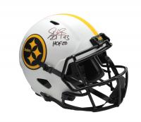 "Troy Polamalu Signed Steelers Full-Size Lunar Eclipse Alternate Speed Helmet Inscribed ""HOF 20"" (JSA COA) at PristineAuction.com"