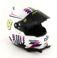 Jimmie Johnson NASCAR Ally Financial Full-Size Helmet at PristineAuction.com
