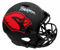 Budda Baker Signed Cardinals Full-Size Eclipse Alternate Speed Helmet (Beckett COA) at PristineAuction.com
