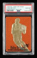 Kobe Bryant 1998 Skybox E-X 2000 Basketball Texture 23KT Gold Card (PSA 10) at PristineAuction.com