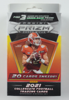 2021 Panini Prizm Draft Picks Football Hanger Box with (20) Cards (See Description) at PristineAuction.com