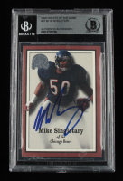 Mike Singletary Signed 2000 Greats of the Game #37 (BGS Encapsulated) at PristineAuction.com