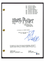 """Daniel Radcliffe Signed """"Harry Potter and the Chamber of Secrets"""" Movie Script (Beckett COA) at PristineAuction.com"""