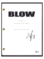 """George Jung Signed """"Blow"""" Movie Script (Beckett COA) at PristineAuction.com"""