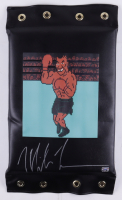 """Mike Tyson Signed """"Punch Out!!"""" Wall Focused Punching Pad (Tyson Hologram) at PristineAuction.com"""