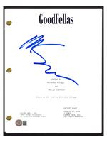 """Martin Scorsese Signed """"Goodfellas"""" Movie Script (Beckett COA) at PristineAuction.com"""