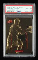 Michael Jordan 1996-97 Ultra 23KT Gold Court Masters #2 (PSA 8) at PristineAuction.com