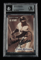 Frank Robinson Signed 1998 Sports Illustrated Then and Now #29 (BGS Encapsulated) at PristineAuction.com